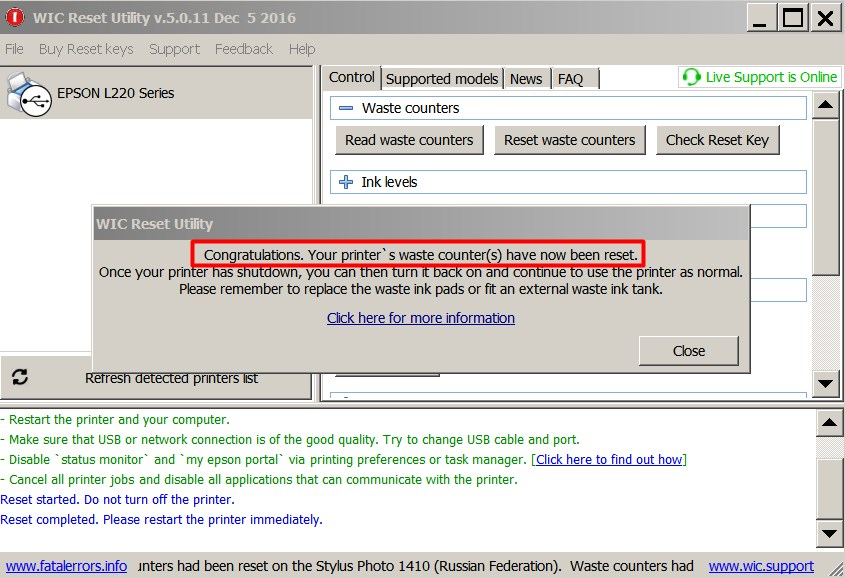 powerful serial number generator reset epson