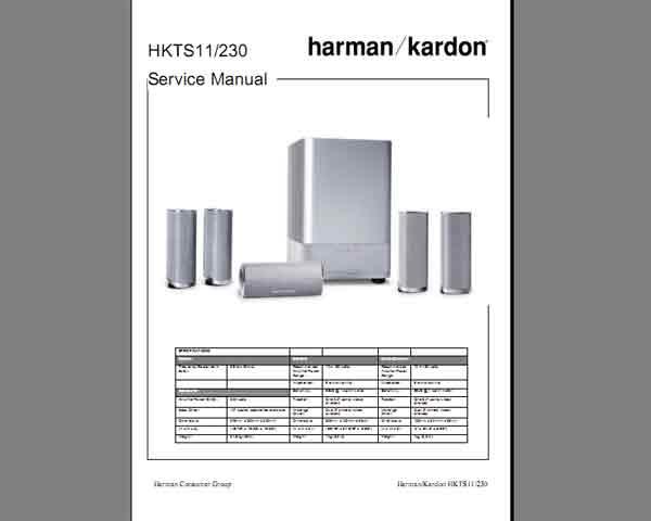 Harman Kardon Manual on