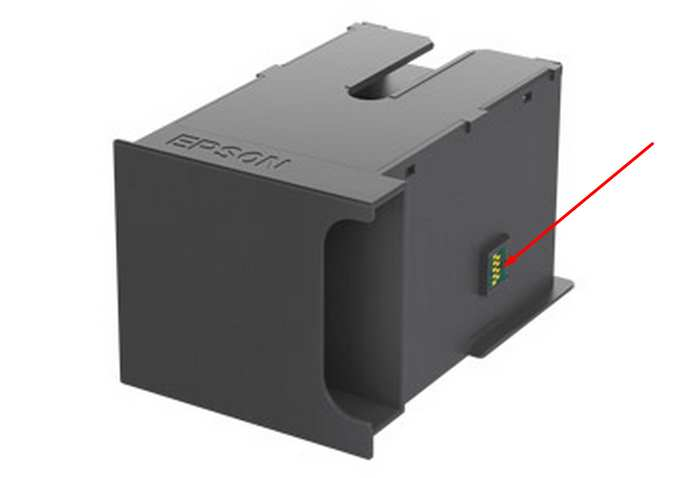 Waste Ink Maintenance Box T671000 for Epson  WorkForce WP-series, WF-series