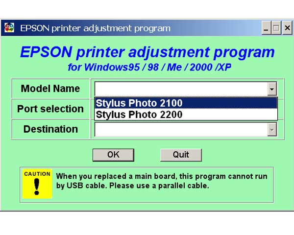 Reset Epson Printer by yourself. Download WIC reset