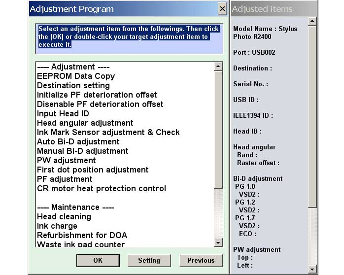 software source printers advice programs with r310 for r210 method