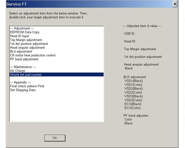 Epson p50 adjustment program скачать бесплатно - e2
