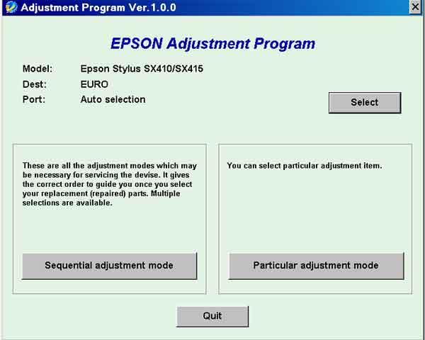 epson 7600 утилиты: