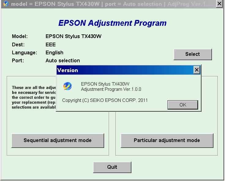 epson adjustment program l382 gratuit