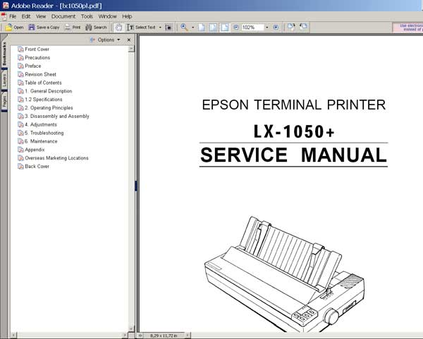 lx 300 epson service manual manuals library for free rh 4free articles com epson lx 300 user manual epson lx 300 printer driver