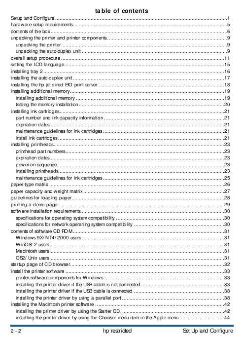hp business inkjet 2600 2600dn series printers service manual rh 2manuals com Manual Clip Art Write Operations Manual
