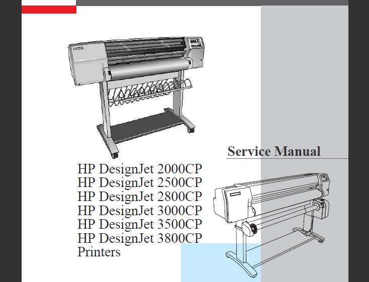 Download Hp designjet 510 manual service