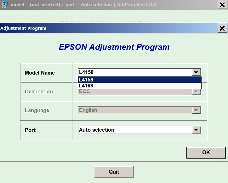 Epson <b>L1458, L1468  </b> (ECC) Ver.1.0.0 Service Program  <font color=red>New!</font>