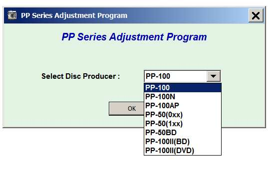 Epson <b>PP-50, PP-50BD, PP-100, PP-100N, PP-100AP, PP-100II </b> Adjustment Program  <font color=red>New!</font>