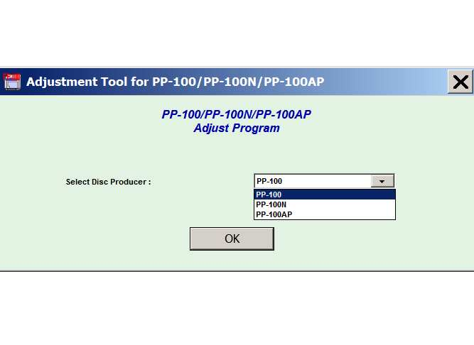 Epson <b>PP-100, PP-100N, PP-100AP </b> Adjustment Program  <font color=red>New!</font>
