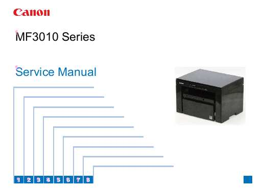 CANON MF3010 Series Service Manual