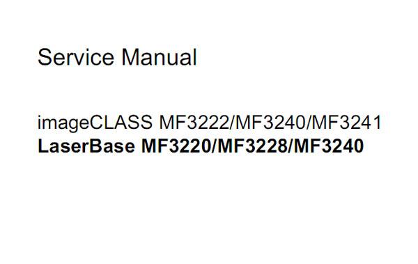 Download Parts manual canon 3228