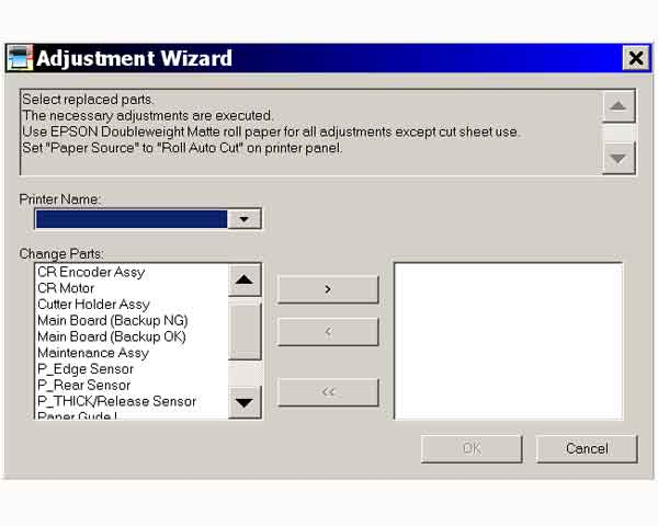 Epson Stylus Pro 7600, 9600 Printers Adjustment Wizard 2 <font color=red>New!</font>