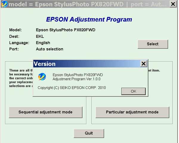 adjustment program epson l200 скачать бесплатно
