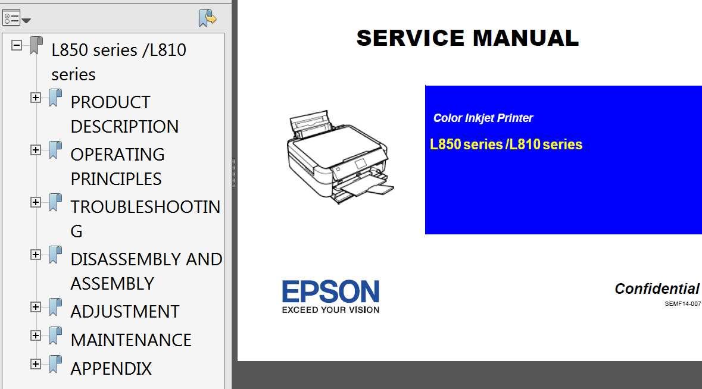 epson l810 series l850 series printers service manual service rh 2manuals com Chilton Manuals Yamaha Service Manuals PDF