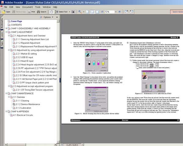 epson stylus tx110 tx111 tx112 tx113 tx115 tx117 tx119 nx110 nx115 sx110 sx115 color inkjet printer service repair manual