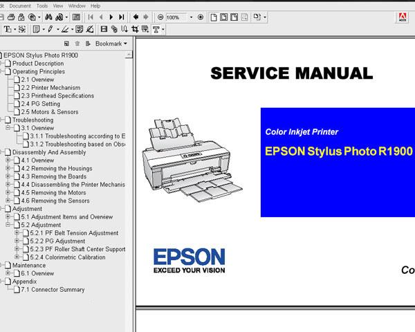 epson r1900 printer service manual service manuals download service rh 2manuals com Service Station Service ManualsOnline