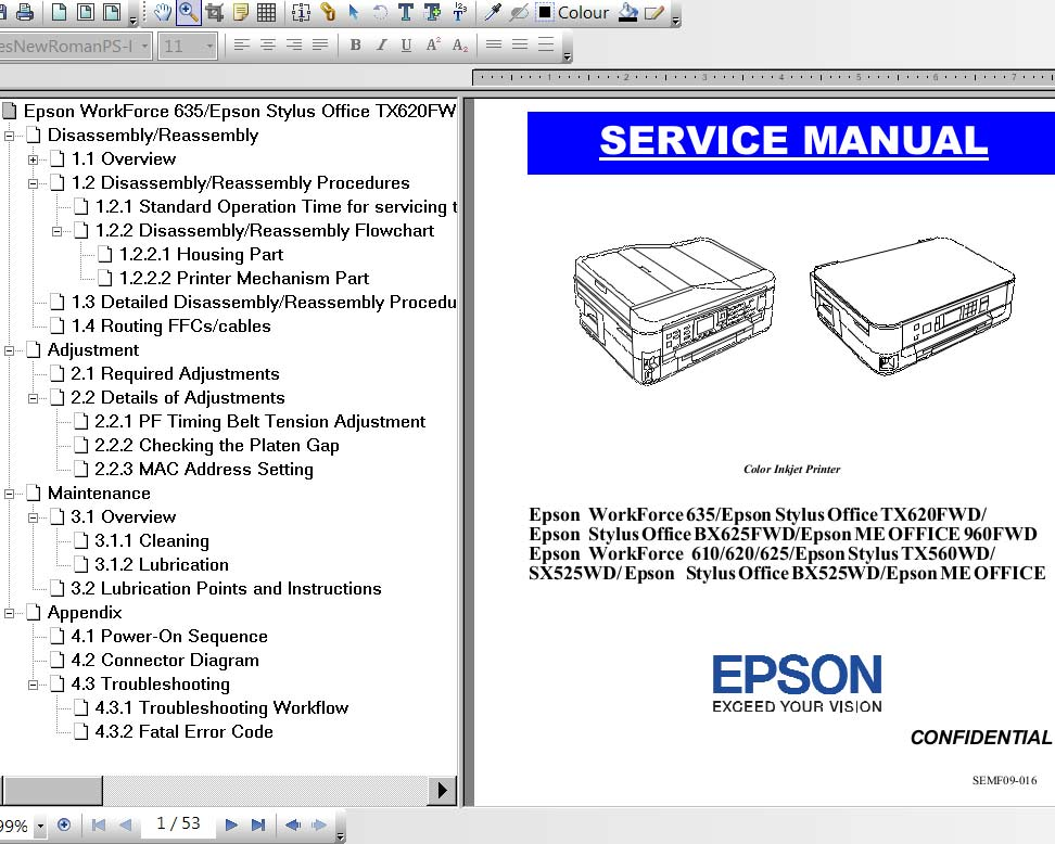 color service manual rh 2manuals com Repair Manuals Parts Manual