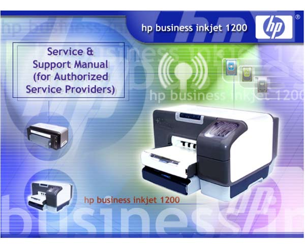 HP Business Inkjet 1200 Printer Service and Support Manual